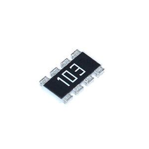10PCS 1206 SMD/SMT Resistor Array Network 8-Pin 10K 103 8P4R