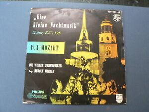 EP 7 INCH SINGLE W.A. MOZART EINE KLEINE NACHTMUSIK G-DUR KV 525 WIENER SYMP MOR