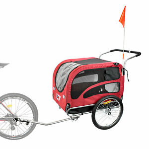 CyclingDeal Bicycle Bike Pet Carrier Trailer and Stroller