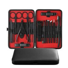 Manicure Pedicure Set Kit 18 in 1 Nail Clippers