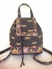 Bag Americana By Sharif Backpack Designer Fashion Floral Animal Quilted Hip Chic