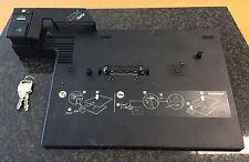 Lenovo ThinkPad Docking Port Replikator T60 T400 T500 KEY TYPE 2504 FRU 42W8299