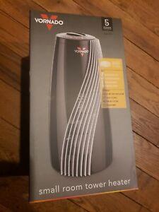 Vornado SRTH Small Room Tower Heater, Black NEW
