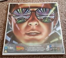 Back To The Future Trilogy Big Sleeve Edition Blu Ray & DVD BRAND NEW