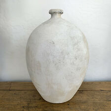 Large Artisan Painted Olive Pot