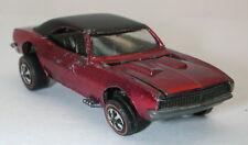 Redline Hotwheels Red 1968 Custom Camaro oc10941