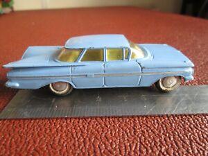 Corgi #220 - Chevrolet Impala. blue