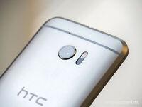 HTC 10 | Verizon | 32 GB | Glacier Silver | Grade: 9/10 | 5.2in Smartphone