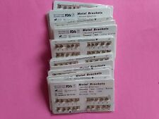 "100 sets Dental Bracket Brace Orthodontic Standard Roth Slot.022"" 3 4 5 Hooks"