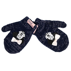 Official Licensed Girls Disney Minnie Mouse Mittens Age 2-3 Years Disney Store