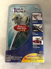 """""""NEW"""" ROTO PUNCH 75 EYELETS & SNAP FASTENERS INCLUDED"""