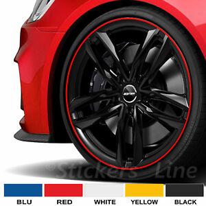Bandes Roues Jantes Auto Réflecteurs Wheel Rim Stickers Car Mesures À à Choisir