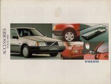 Volvo 440 Accessories 1989-92 UK Market Sales Brochure