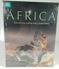 BBC EARTH Africa - Baby Turtle 1000 Piece Jigsaw Puzzle - New Sealed