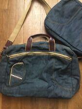 Diesel sac + sac PC jeans+ cuir neuf 42,5 X 35 X 13 CM valeur 390 euro