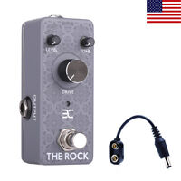 EX Classic Overdrive Guitar Pedal Perfect Level of Saturation for Solos or Riffs