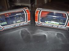 tesco Die Cast POLICE RESCU & POLICE CAR Vehicles bnib 4 INCHES