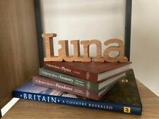 Personalised Wooden Name, OAK, Handmade, Sign, Home Decor, Gift