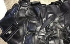 Genuine PRADA Soft Leather Black Bag