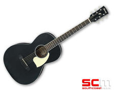 Ibanez PN14 WK Weathered Black Open Pore Acoustic Guitar Parlor Mahogany