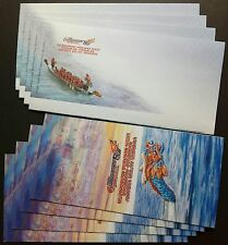 2008 Malaysia Dragon Boat World Championship, Blank FDC (Lot of 4 covers)