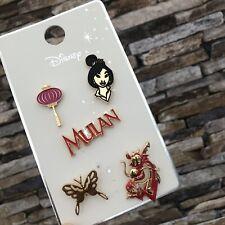 Official Disney Mulan 5 x Primark Pin Badges Badge Mushu