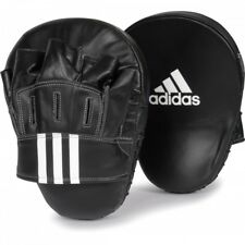 NEW adidas Boxing Focus Mitts Taekwondo Punch Pad MMA Karate Curved Focus Mitt