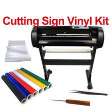 24 Cutter Plotter Sign Vinyl Film Decal Stickers Arts Car Van Sign Durable