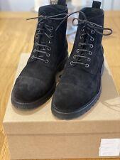Belstaff Mens New Alperton Boots Black Size 8Uk