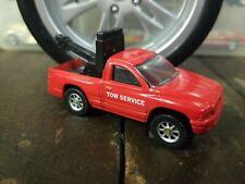"Maisto Dodge Dakota Pickup Tow Truck Red ""Tow Service"""