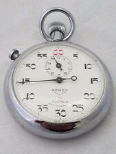 ARNEX  Stop Watch Vintage,  1/5, 7 Jeweled
