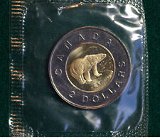 2001 Canada Classic design toonie from PL set - mint sealed