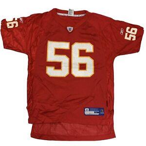 Kansas City Chiefs Football D. Johnson #56 Reebok Jersey Youth Size L