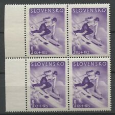 "No: 70216 - SLOVENSKO - 1 KS + 1 KS - ""SPORTS"" - AN OLD BLOCK OF 4 - MNH!!"