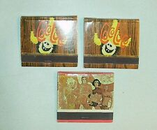 Lot Coco Loco & Fantastico Acapulco Princess Hotel Golf Matchbook Matches Unused