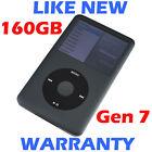 Apple IPOD CLASSIC - 7th Generation / 7G - 160GB - Grey - Refurbished like new!