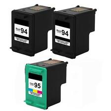 3PK Compatible for HP 94 95 Ink For HP OfficeJet 7210v 7210 6210xi 6210v 6210