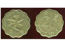 HONG KONG 20 cents 1994  ( bis )
