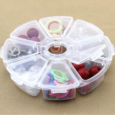 New Clear Plastic Jewelry Bead Storage Box Container Organizer Case Craft Tool R