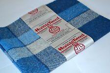Harris Tweed Stoff Etiketten 100% Wolle Schottenkaro Fischgräte Basteln