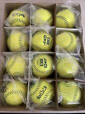 New listing Dozen 12 BRAND NEW Slow Pitch Softballs. 12 In Composite. USSSA. Classic M.
