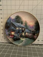 """""""Julianne's Cottage"""" Thomas Kinkade Enchanted Cottages Collection"""