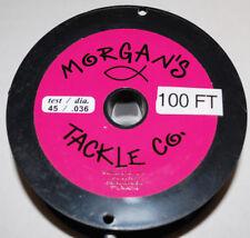 New 100 foot spool Morgan's Tackle 45 lb Supper Copper Trolling line