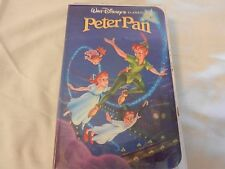 Peter Pan (VHS, 1990) Clam Shell case
