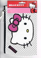 Sanrio HELLO KITTY Cotton Pencil Case / Makeup Bag