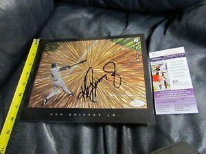 Ken Griffey Jr. Autographed Signed 8x10 Photo JSA Certified