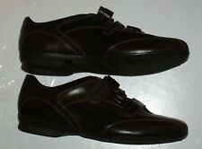 MENS STONEFLY BROWN ESPRESSO LEATHER SHOES SIZE 9 EU 43 WERE £69.95