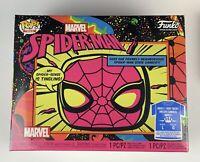 Funko Marvel Spider-man Black Light Pop & Tee (Size : Large) - Target Exclusive