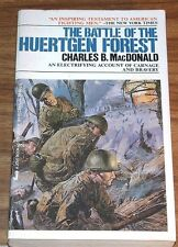 Reduced CHARLES B.MACDONALD Battle Of The Huertgen Forest JOVE U.S.Army/ARDENNES