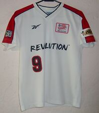 MLS New England Revolution Reebok 1999 Joe-Max Moore Home Soccer Jersey